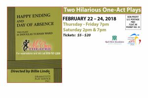 2 one-act Plays. Day of Absence and Happy Ending