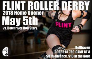 Flint Roller Derby Season Opener