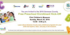 2018 Genesee County Free Preschool Enrollment Kick...