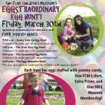 Eggstraordinary Egg Hunt at the Flint Children's Museum!