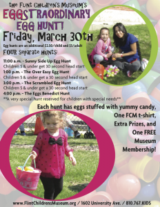Eggstraordinary Egg Hunt at the Flint Children's M...