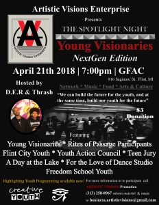 "The Spotlight: ""Young Visionaries"" NextGen Edition..."