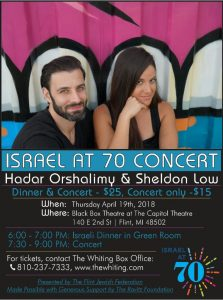 Israel at 70 - Hadar Orshalimy & Sheldon Low