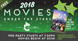 Movies Under the Stars - The Secret Life of Pets