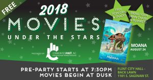 Movies Under the Stars - Moana