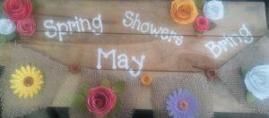 'APRIL SHOWERS SPRING FLOWERS' WORKSHOP
