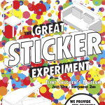The Great Sticker Experiment Grand Opening