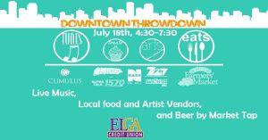 Downtown Throwdown @ The Flint Farmers Market
