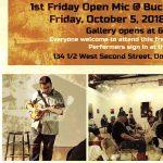 1st Friday Open Mic @ Buckham Gallery