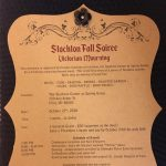 Stockton Fall Soiree Victorian Mourning