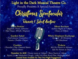 Christmas Spectacular - Light in the Dark Musical ...