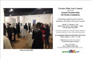 Greater Flint Arts Council All Media Members Exhib...