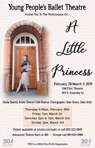 """Young People's Ballet Presents """"A Little Princess""""..."""
