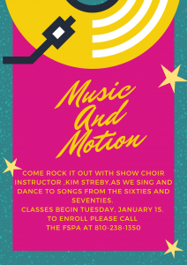 Adult Music and Motion Class