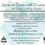 Learn to Paint Watercolor