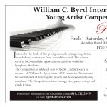 William C. Byrd Young Artist Competition, Piano