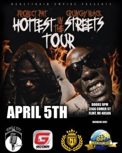 Project Pat / Crunchy Black - Hottest in the Stree...