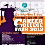 Flint Community Schools Career and College Fair 2019