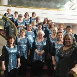 Song of the Lakes Sweet Adelines Chorus' 50th Anniversary party BARBERSHOP BAR-B-Q BASH