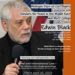 Edwin Black, Investigative Journalist speaks on Israel and International Law