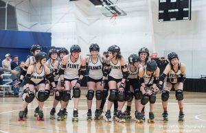 Flint Roller Derby vs Atom Smashers
