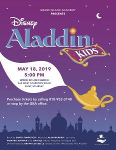 Grand Blanc Academy presents Disney's Aladdin Kids!
