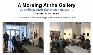 Gallery Visit for Area Seniors
