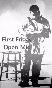 First Friday Open Mic at Buckham Gallery