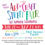 Flint Handmade Art & Craft Street Fair