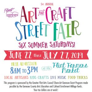 Flint Handmade Art & Craft Street Fair