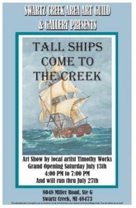 Tall Ships Come To The Creek