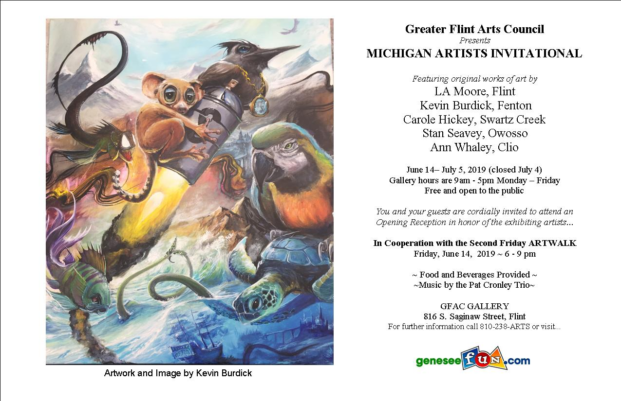 MICHIGAN ARTISTS INVITATIONAL EXHIBITION presented by Greater Flint