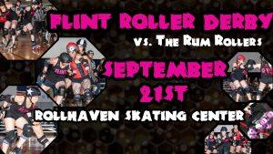 Flint Roller Derby vs. The Rum Rollers