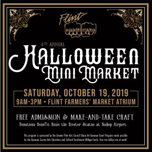 Flint Handmade 4th Annual Halloween Mini Market