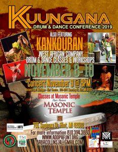 Kuungana Drum and Dance Conference 2019