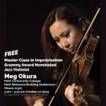 Meg Okura Jazz Improvization Master Class