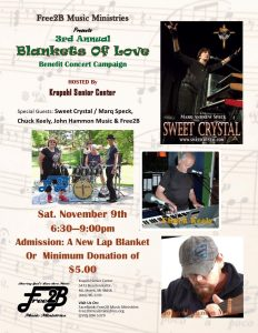 3rd Annual Blankets of Love