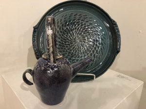 Claire Mott White Clay Artists of Michigan Exhibit...