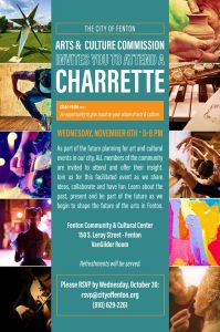 City of Fenton Arts & Cultural Charrette