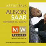 Artist Talk by Alison Saar at MW Gallery