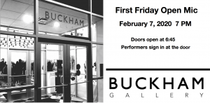 First Friday Open Mic