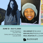 Buckham's June exhibitions may be viewed online.