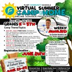 Flint Community Schools Virtual Summer Camp@Home for Kindergarten through 5th