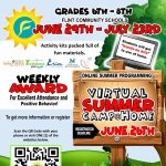 Flint Community Schools Virtual Summer Camp@Home for 6th through 8th Grade