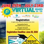 Flint Community Schools Virtual Credit Recovery - Online Summer Programming