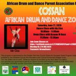 Cossan African Drum and Dance Zoom Classes