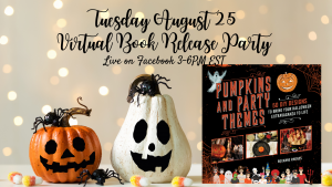 Virtual Book Release Party for Pumpkins and Party ...