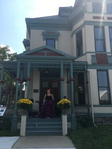 Whaley Historic House Museum Say Farewell to Summer Lawn Party Porch Concert featuring Modestina
