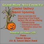 Grand Blanc Arts Council's Chalet Gallery Grand Opening