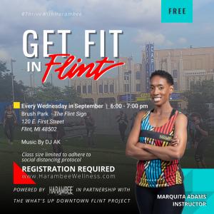 Get Fit In Flint - Free Fitness Class